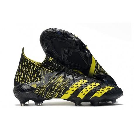 adidas Predator Freak.1 FG Shoes Black Yellow