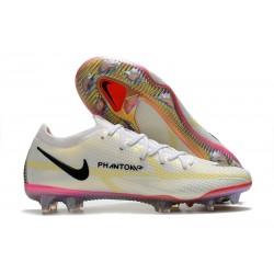 Nike Phantom GT II Elite FG Boot White Black Bright Crimson Pink Blast