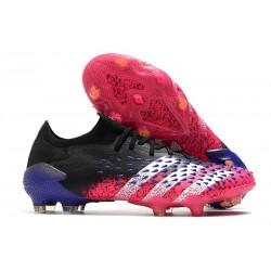 adidas Predator Freak.1 Low FG Core Black White Shock Pink