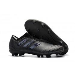 adidas Nemeziz Messi 17+ 360 Agility FG Soccer Boots - All Black